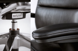 Detaljer på kontorsstol